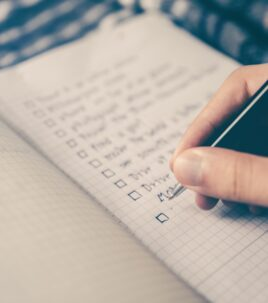 How important is a checklist to manage your assets?